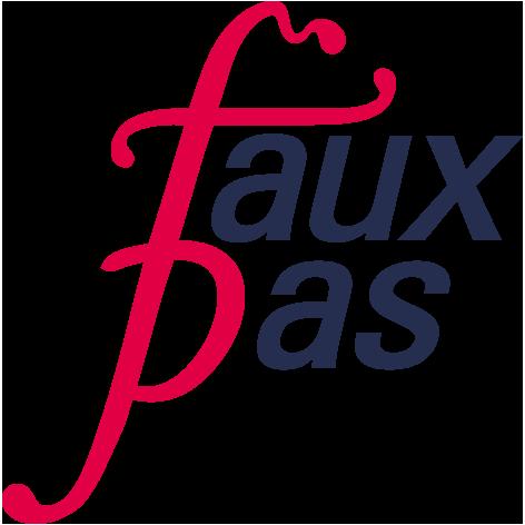 faux pas Link zur Homepage